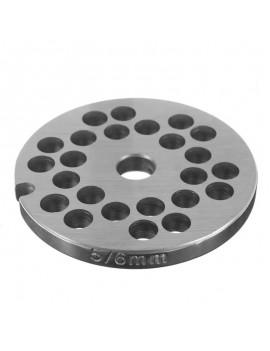 Решётка мясорубки STOLLAR #5/6 - ячейка 6mm (10027)
