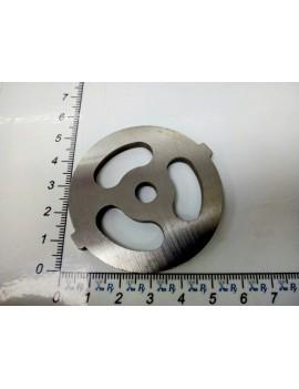 Решётка мясорубки AURORA #5/0 - ячейка 10x24mm (10089)