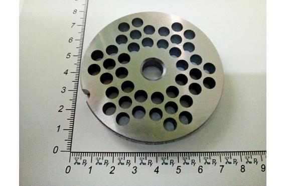 Решётка мясорубки  APACH ATS12 #12/6 - ячейка 6mm (10635)