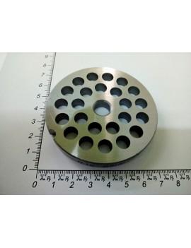 Решётка мясорубки MEC #12/8 - ячейка 8mm (10636)