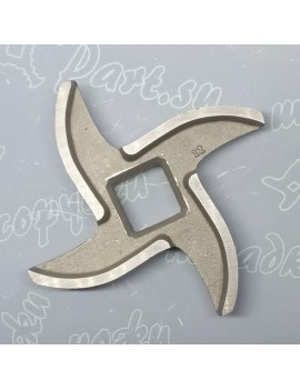 Нож мясорубки VIATTO #12 - квадрат 12x12mm (10016)
