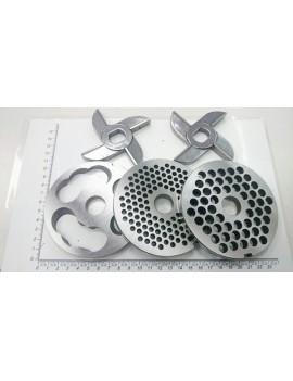 Комплект мясорубки МИМ-500, МИМ-600 - ножи без бурта (10598)