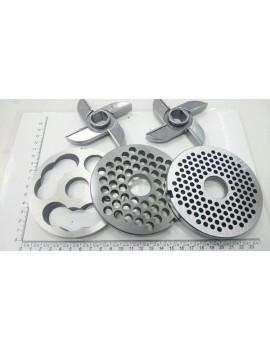 Комплект мясорубки МИМ-500, МИМ-600 - ножи с буртом (10599)