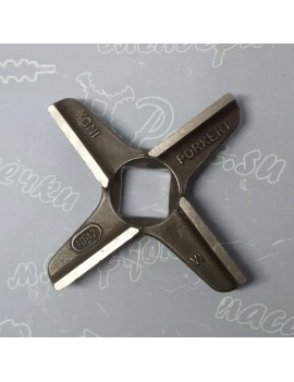 Нож крестовой мясорубки ERGO #12 - квадрат 12x12mm (16710)