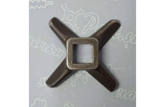 Нож крестовой мясорубки Koneteollisuus Oy (KT) #12 - квадрат 12x12mm (16710)