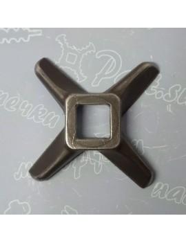 Нож крестовой мясорубки MEAT MINCER #12 - квадрат 12x12mm (16710)