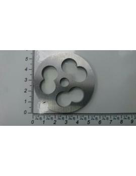Решётка мясорубки IRIT #5/0 - ячейка 14x25mm (10328)