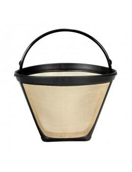 Многоразовый конусообразный фильтр #4 для кофе сетчатая корзина
