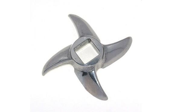 Нож мясорубки ROLSEN #12 - квадрат 12x12mm (10016)