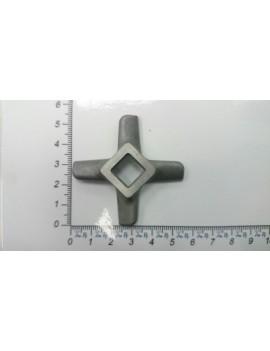 Нож мясорубки DELONGHI 'стандарт' #8 - квадрат 10mm (10015)