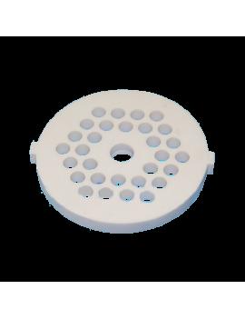 Решетка высокой прочности для мясорубки Midea MG-2761, 2777, 2753 и др.  (Д-53,5мм - керамика) (Z1005.201)